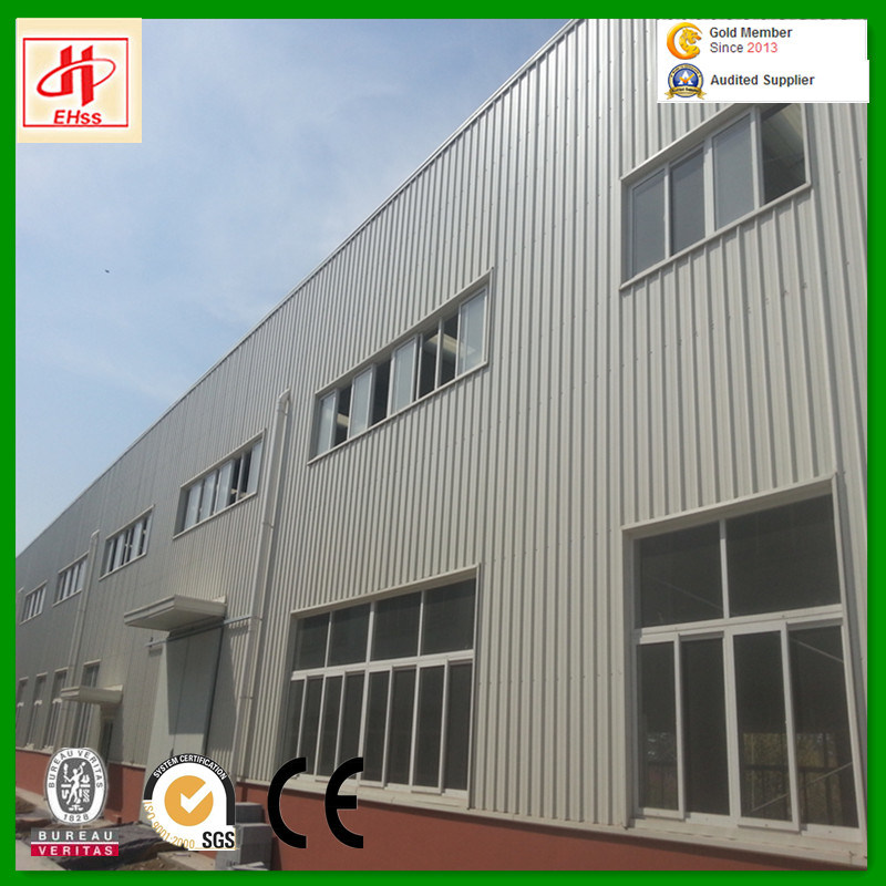 Low Cost Light Steel Structure Warehouse Godown pictures & photos