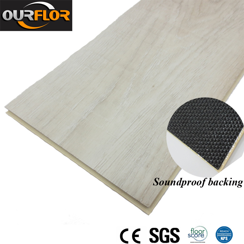 China Pvc Wpc Vinyl Flooring Planks With Film Attachment