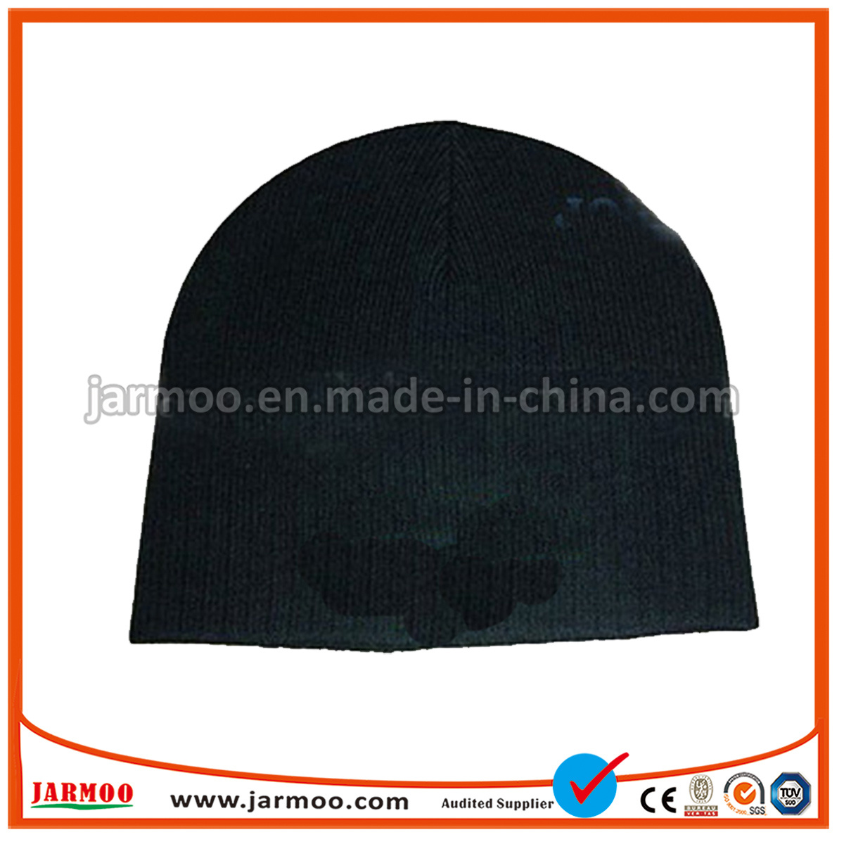 59b088fc73e China Design Your Own Custom Logo Winter Knit Cap Hats Women Beanie ...
