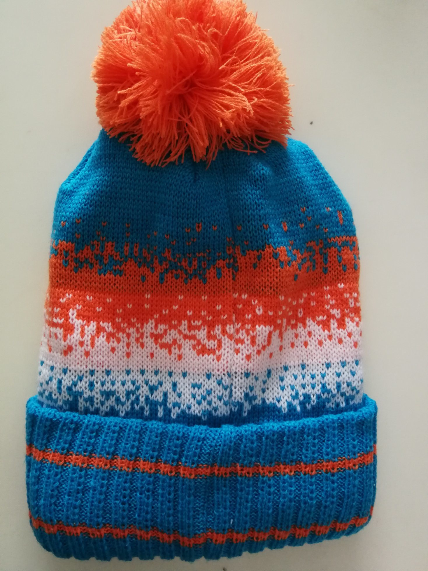 9f693b01 [Hot Item] Blue Beanie Hat Winter Warm Hats Knit Slouchy Skull Cap