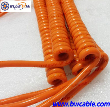 China 7 Core Trailer Cable Colours 7 Pin Trailer Cable 7 RV Blade ...