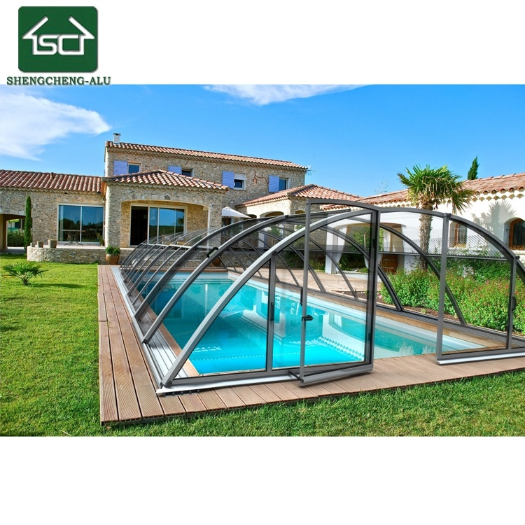 [Hot Item] Factory Price Swimming Pool Roof for Garden Pool