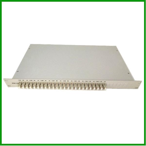 China Rackmount Multimode Fiber Coupler/ Splitter 1X2 (16in1