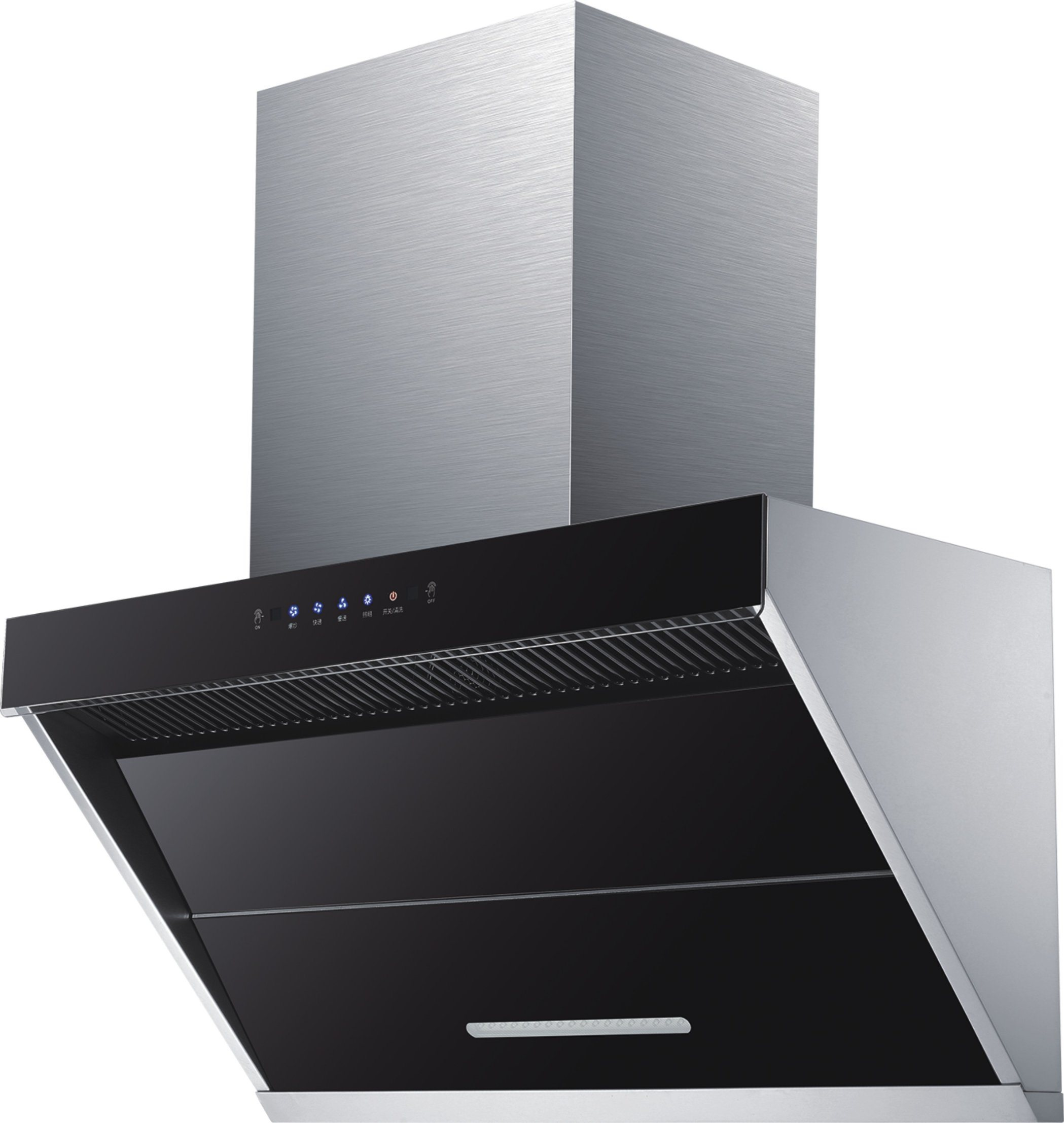 China Commercial Kitchen Hood System Restaurants Hotels Rangehood Esp Filter Integrated Exhaust Hood China Hood Fan And Cooking Range Hood Price