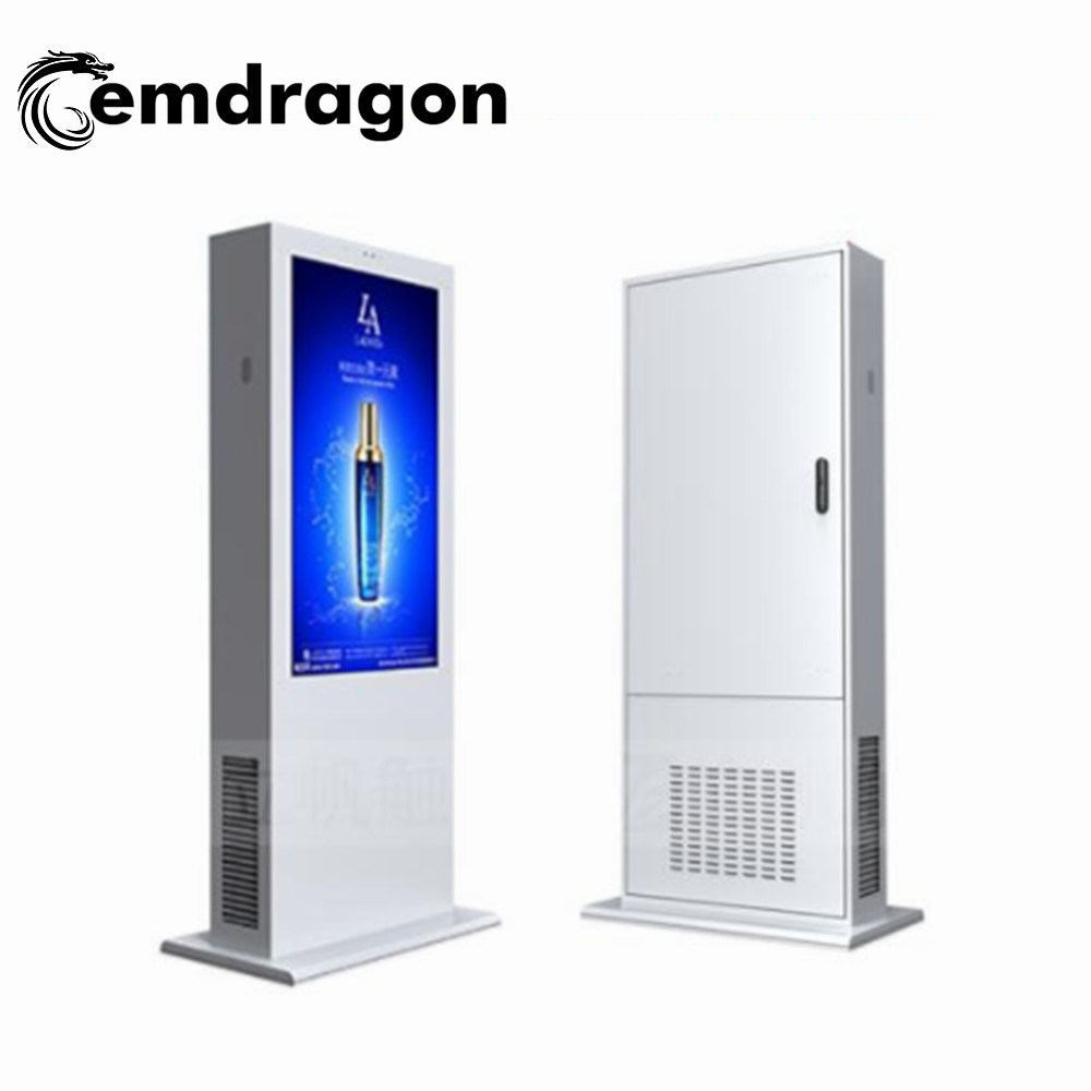 [Hot Item] Floor Advertising Player 55 Inch Information Kiosk Samsung Video  Wall LED Backlight 1920X1080 Multiple Signal Sources Screens Indoor
