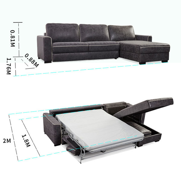 Foldable Living Room Sofa Bed