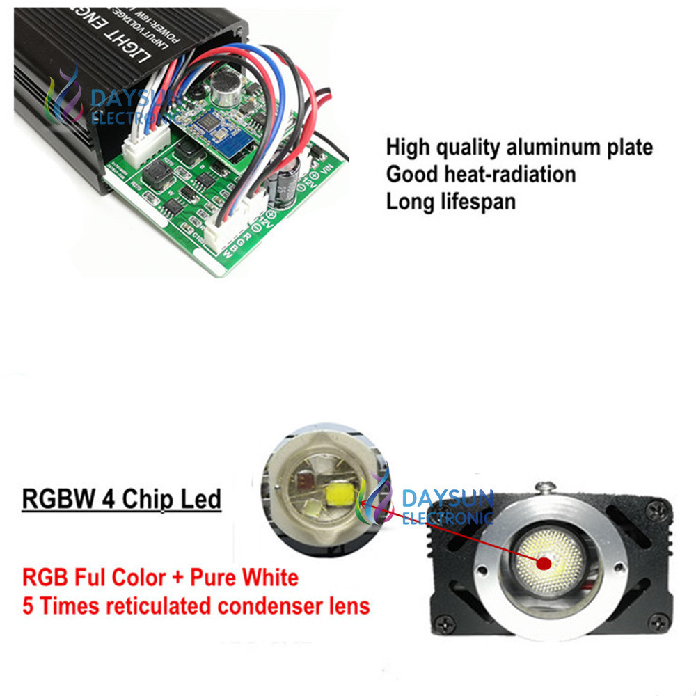 China Music Activated Rgbw Led Light Engine For Car Home Use Rf Simple Remote Control Circuit Without Microcontroller Electronic Controller Mobile App Smart Phone Easy Source