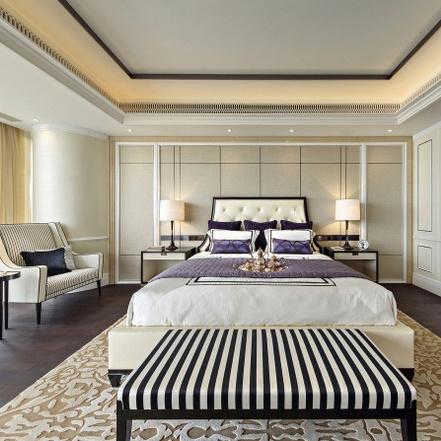 China Hot Selling Wood Furniture 5 Star Hotel Bedroom Furniture