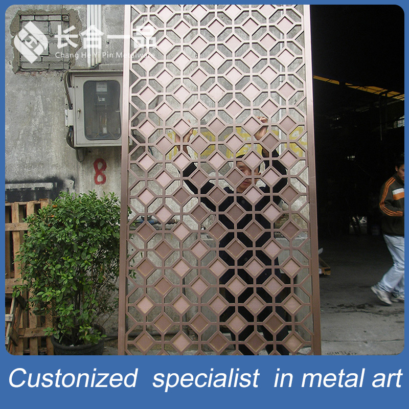 China Customized Best Quality Stainless Steel Decorative Screen