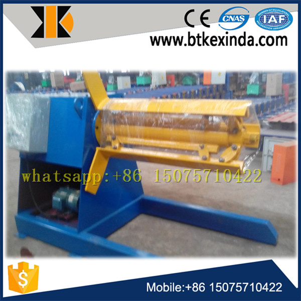 Hydraulic Decoiler for Roll Forming Machine pictures & photos