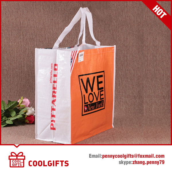 Cartoon Cute Laminated Non Woven Bag for Promotional Gift pictures & photos