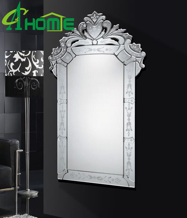 China Antique Rectangle Venetian Mirror Beauty Design Cheap Wall Mirror China Wall Mirror Venetian Mirror Made In China
