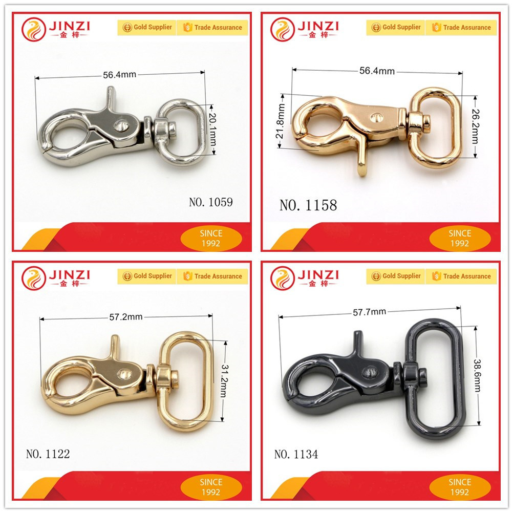 [Hot Item] Various Sizes Metal Swivel Snap Hook, Quality Bag Hook