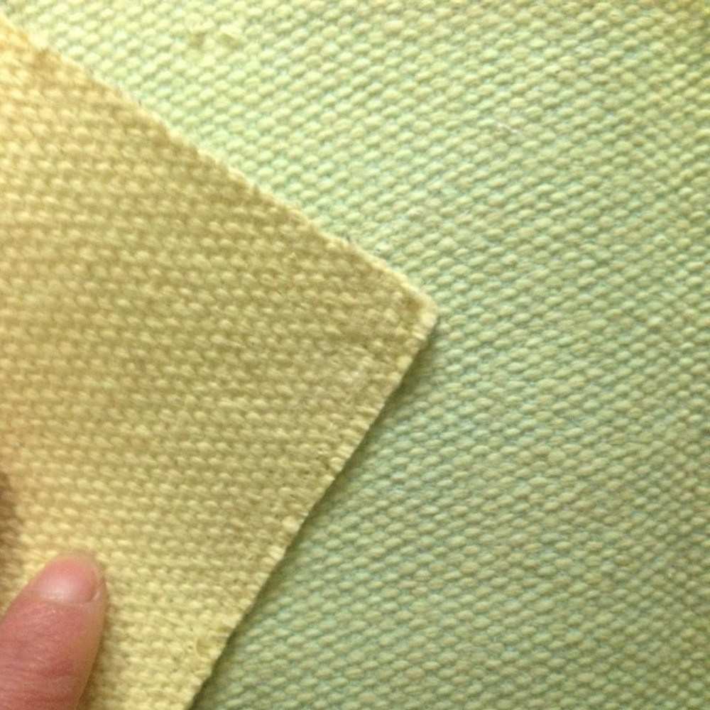 High Temperature Fireproof Wire Inserted Fiberglass Aramid Fabric