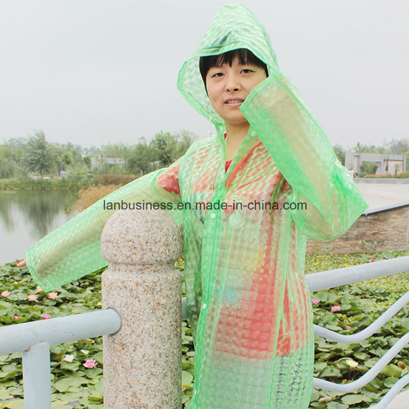 3D Parent-Child Rainwear in Different Colors pictures & photos