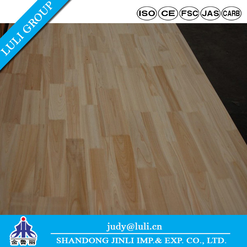 China 12mm 15mm 18mm 24mm 30mm Finger Joint Laminated Board