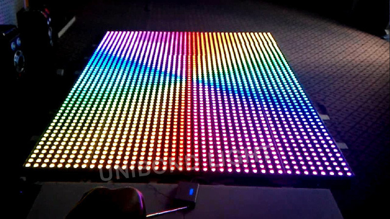 RGB LED Digital Dance Floor for Wedding Event pictures & photos