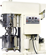 Power Planetary Mixer with Dispersion for High Viscosity Material