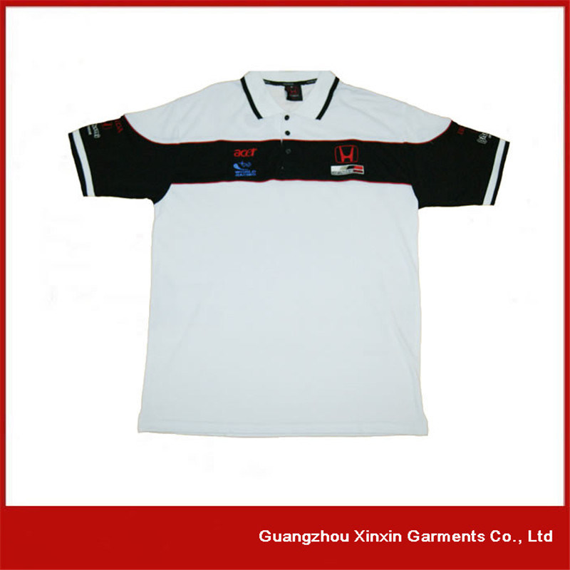 Latest Design Thick Pique Cotton Polo T Shirts Maker (P106) pictures & photos