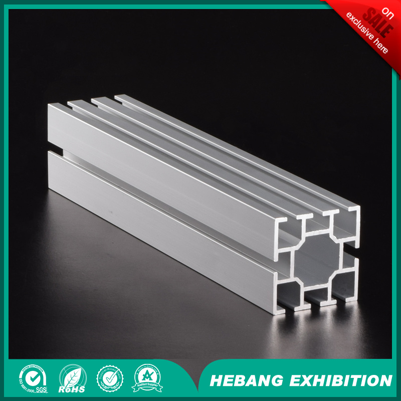 Aluminum Exhibition Booth 4cm 8 Slot Maxima System