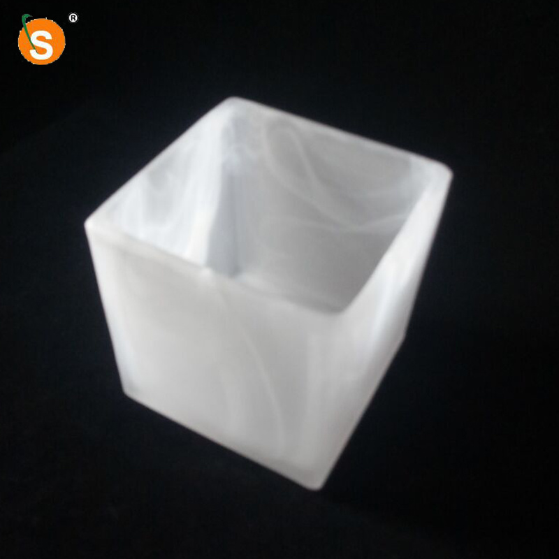 China Alabaster Square Glass Lamp Shade, How To Replace Chandelier Glass Shade