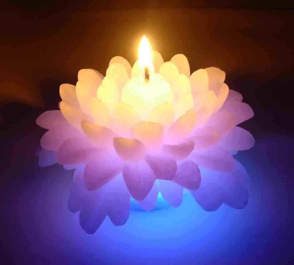 China Color Changing Candle B1229e