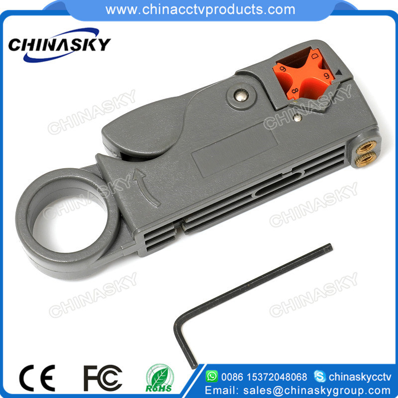 Coax Cable Cutter Stripper Tool For RG58 RG59 RG6