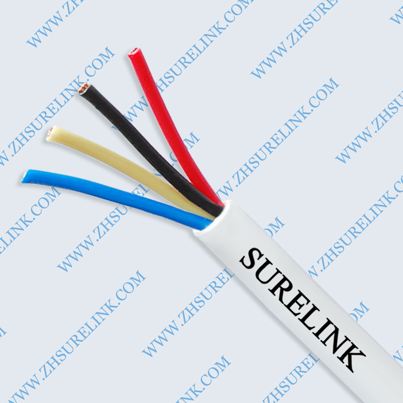 Unshield 4core Alarm Cable