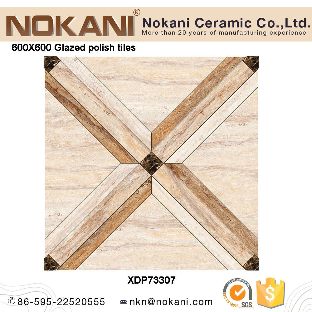 China Full Polish Glazed Porcelain Tile Polished Floor Tile For