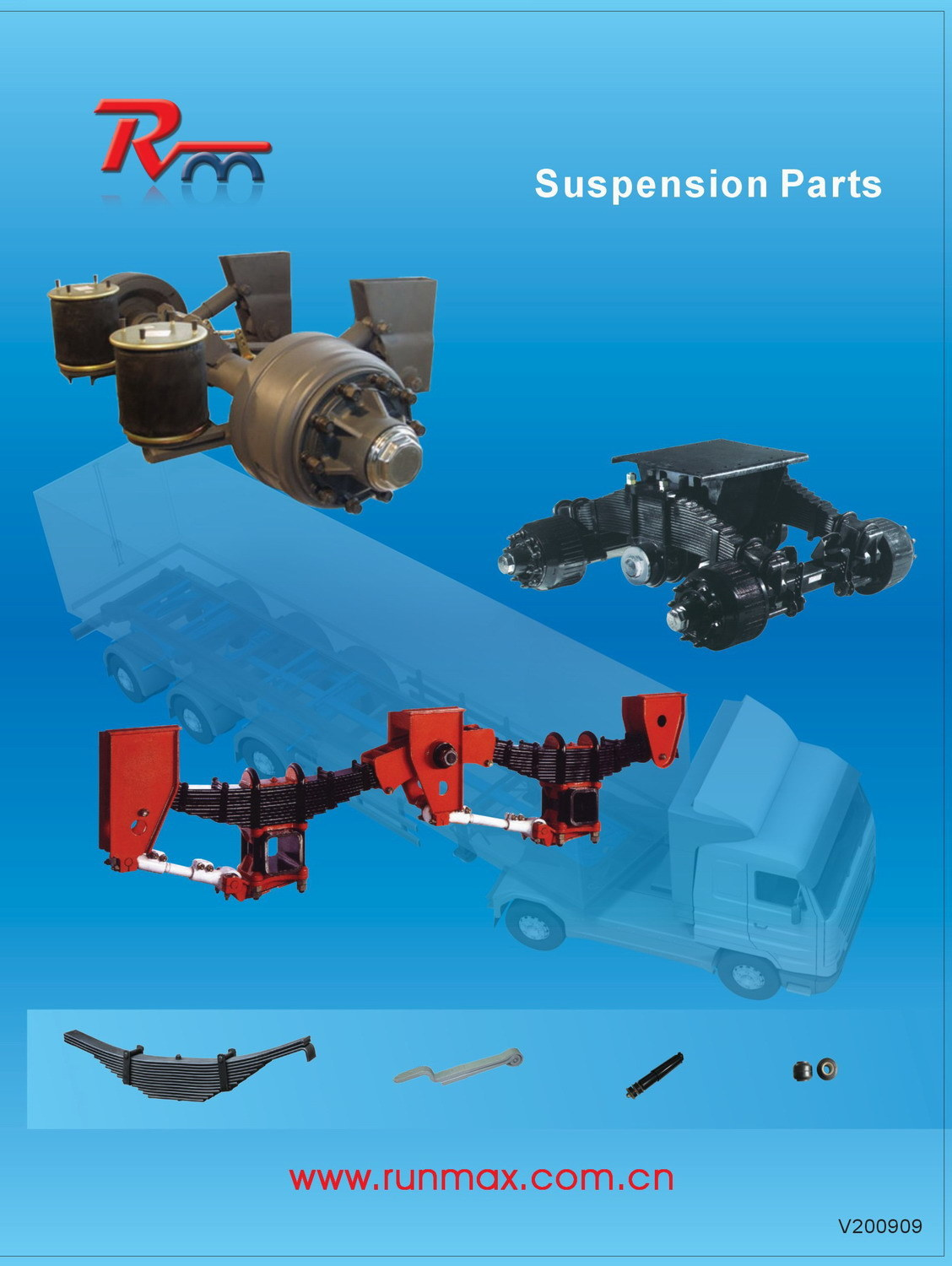Suspension Parts for Truck Trailer and Heavy Duty