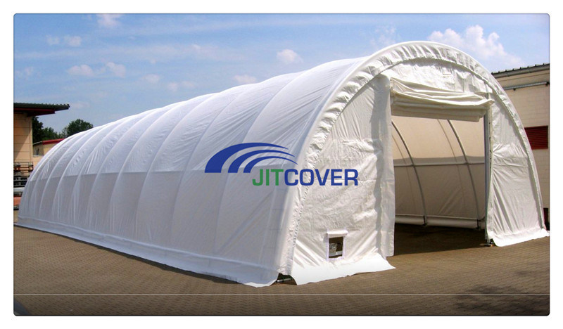 China Heavy Duty Stainless Steel Shelter 9m Span Portable Garage