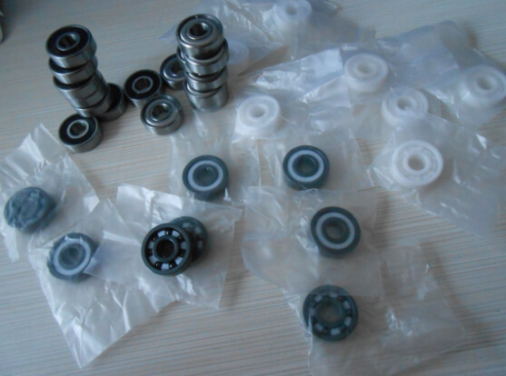 High Speed High Temperature Hybrid Ceramic Ball Bearing 6201 pictures & photos