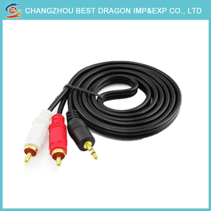 China PC VGA to 3 RCA HD TV AV Male Component Converter Cable ...