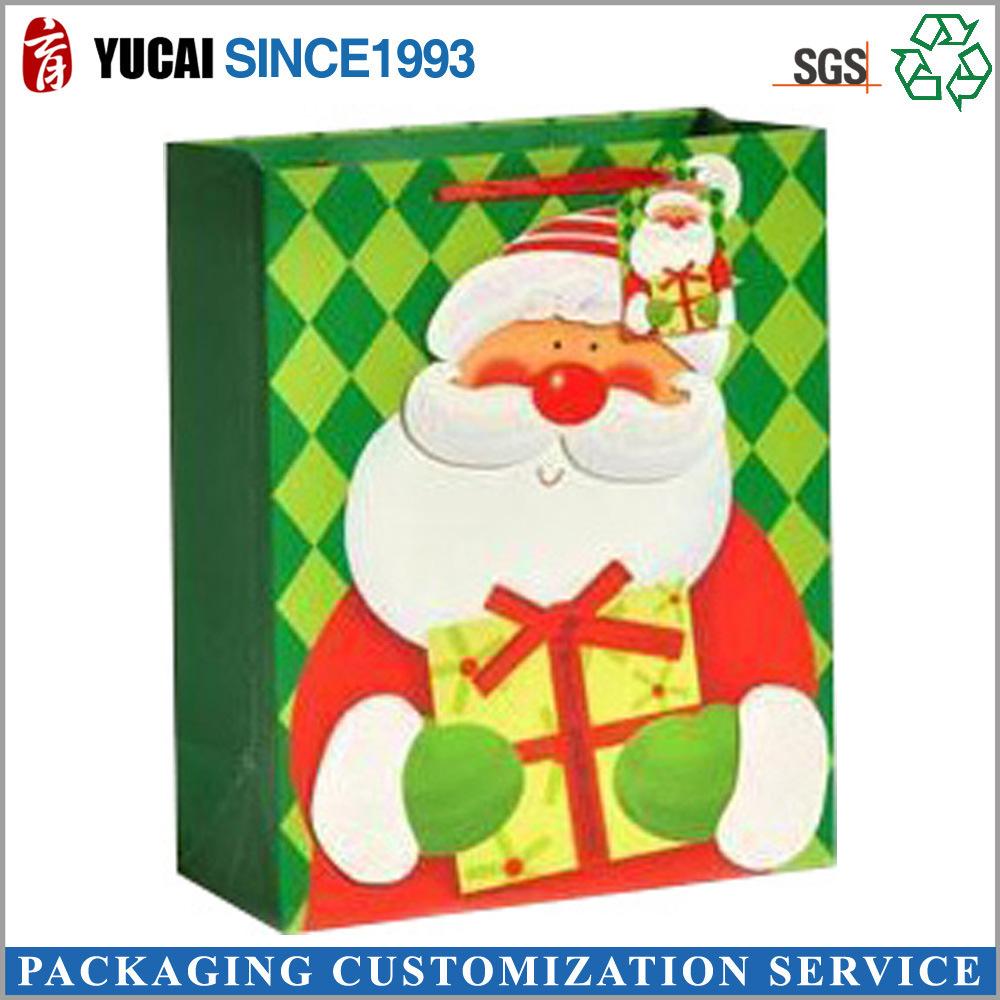 China 2017 Hot Sale Christmas Bag Paper Gift Bag Wholesale - China ...
