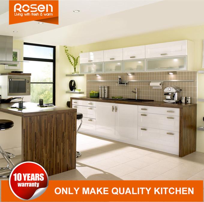 China Customized Maple Design PVC Kitchen Cabinets ...