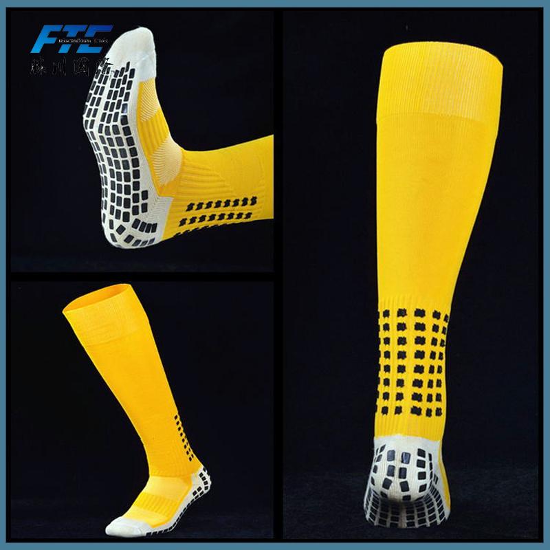 cb1cffe76 China Unisex Long Football Socks Men Anti Slip Soccer Socks Cotton Socks -  China Socks, Wholesale Socks