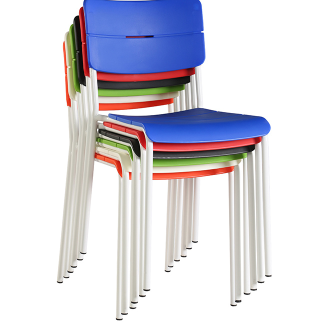 China Molded Stacking White Plastic Chair Price China Stacking