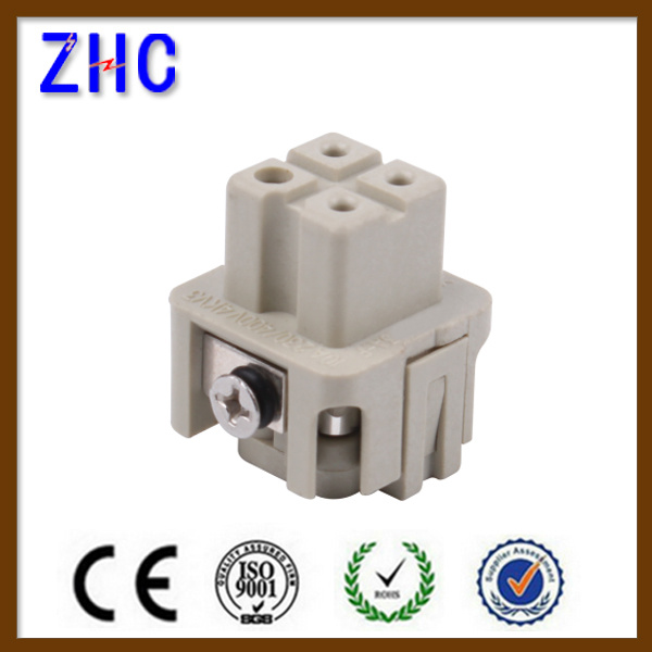 3 Pin 4 Pin Male and Female Heavy Duty Cable Terminal Connector