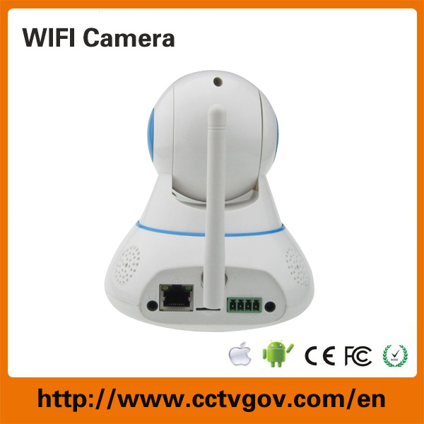 [Hot Item] Cheaper Onvif Protocol 720p P2p Function 64GB SD Card WiFi IP  Camera