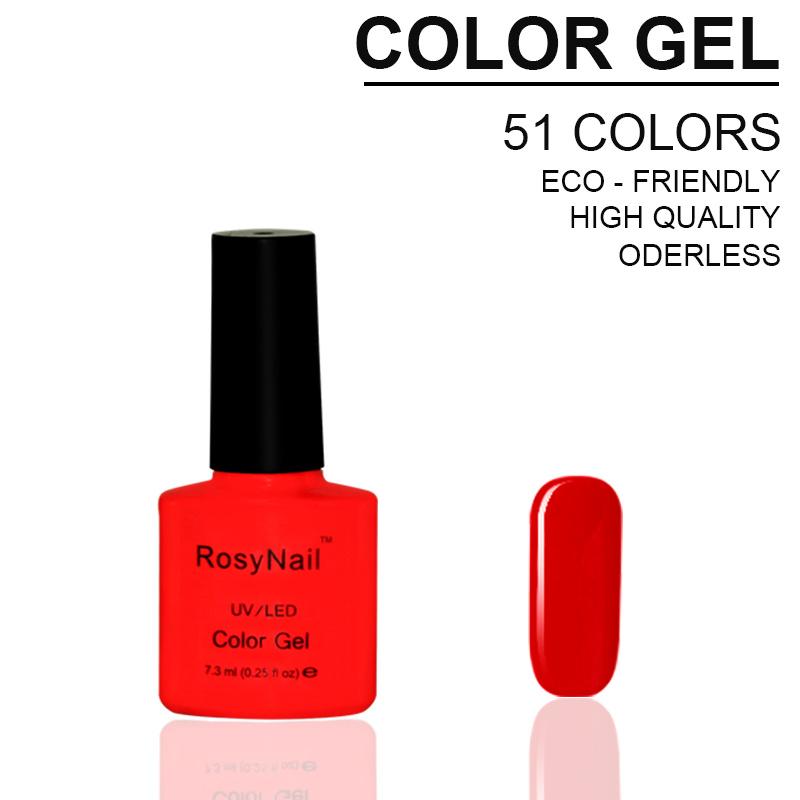 China Rosynails Free Samples Color Soak off UV Nail Gel Polish ...