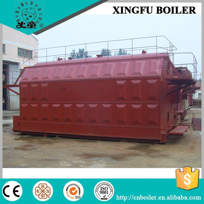 Wood Pellet Fired Steam Boiler