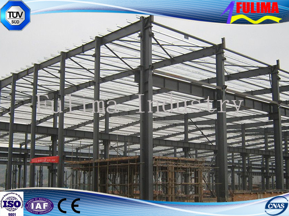 Prefabricated Building Steel Structure for Workshop/Warehouse