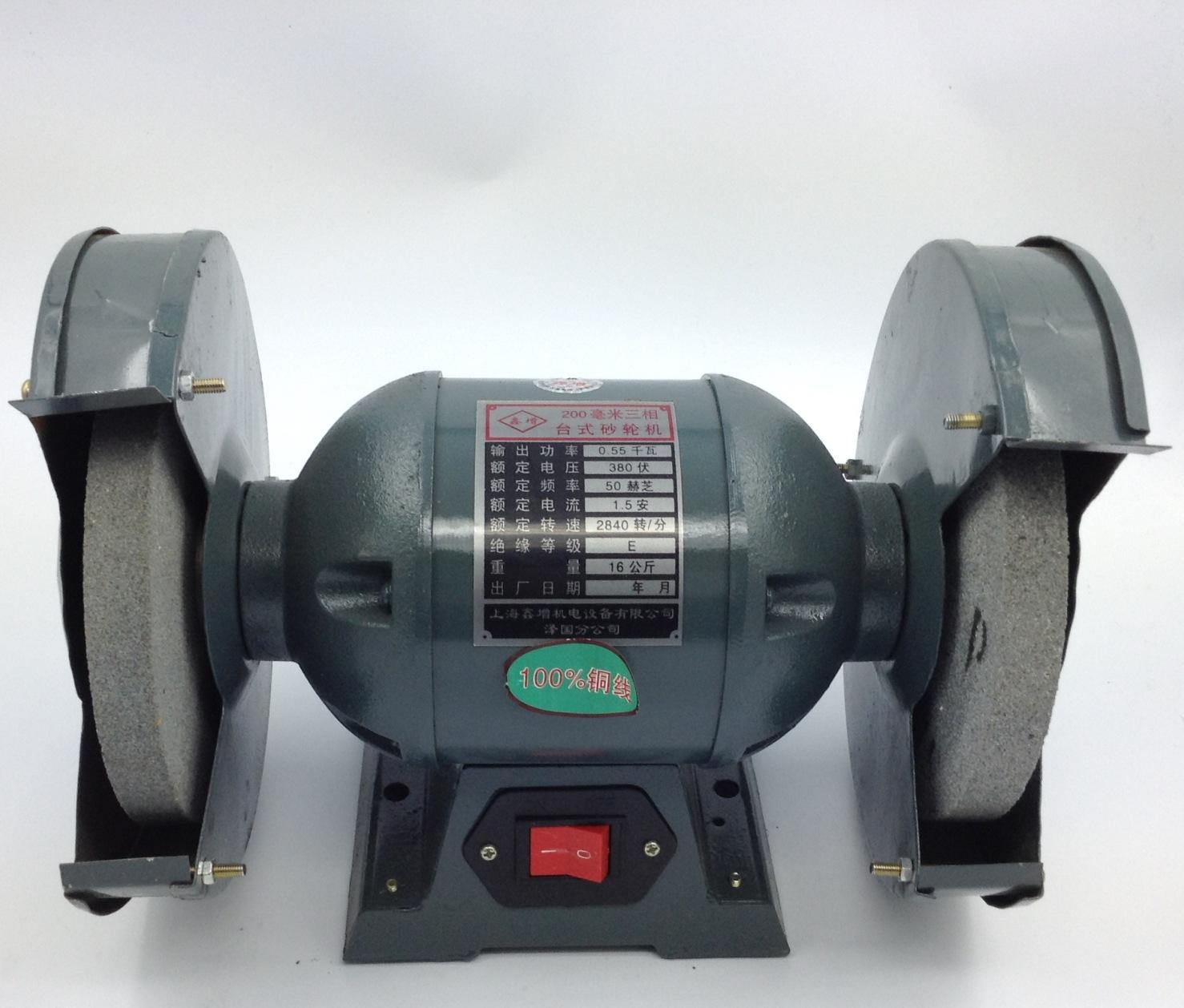 Enjoyable Hot Item 200Mm Bench Grinder For Grinding Stone Caraccident5 Cool Chair Designs And Ideas Caraccident5Info