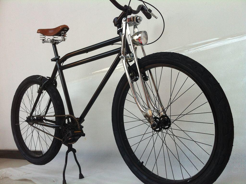 New Beach Cruiser Bicycle Lowrider Suspension