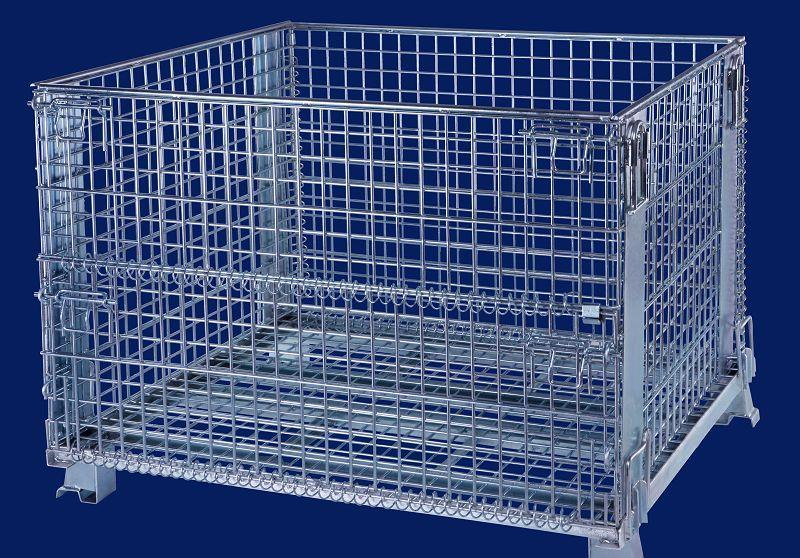 China Anping Factory Hot DIP Galvanized Wire Mesh Basket/ Wire Mesh ...