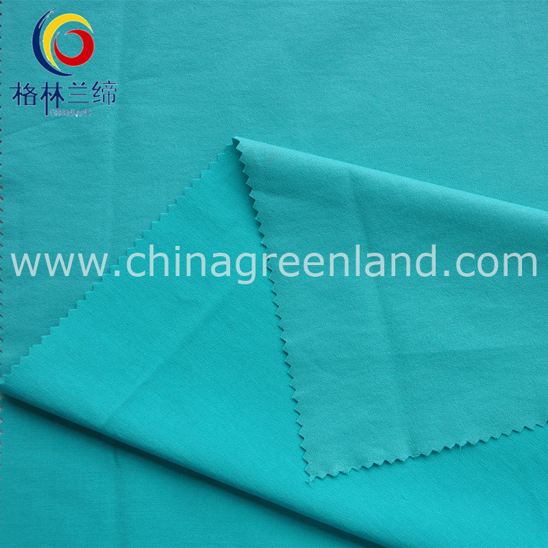 Nylon Rayon 13s/10s Fluoresced Twill Warp Spandex Fabric for Shirt Dress (GLLLDYG001)