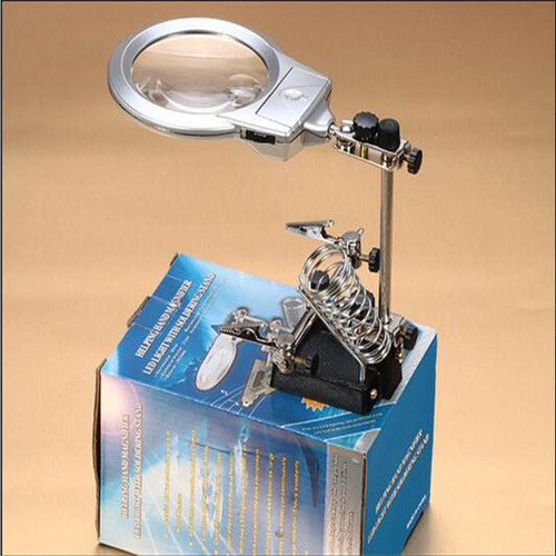 LED Light Desktop Magnifying Glass for Factory and Repair (EGS16132-A)