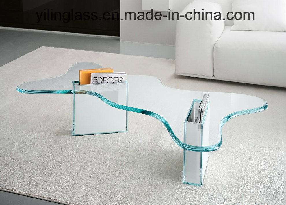 Tempered Clear, Ultra Clear Glass Coffee Table Top pictures & photos