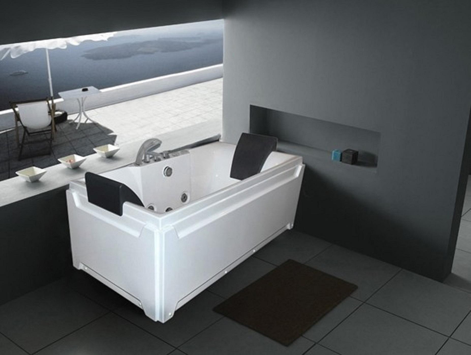China Monalisa Bathroom Acrylic Hot Tub Whirlpool Massage Pool M ...