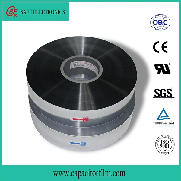 Zinc and Aluminum Metalized Polypropylene Film for Capacitor